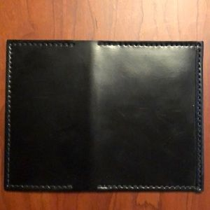 Shell Cordovan card holder